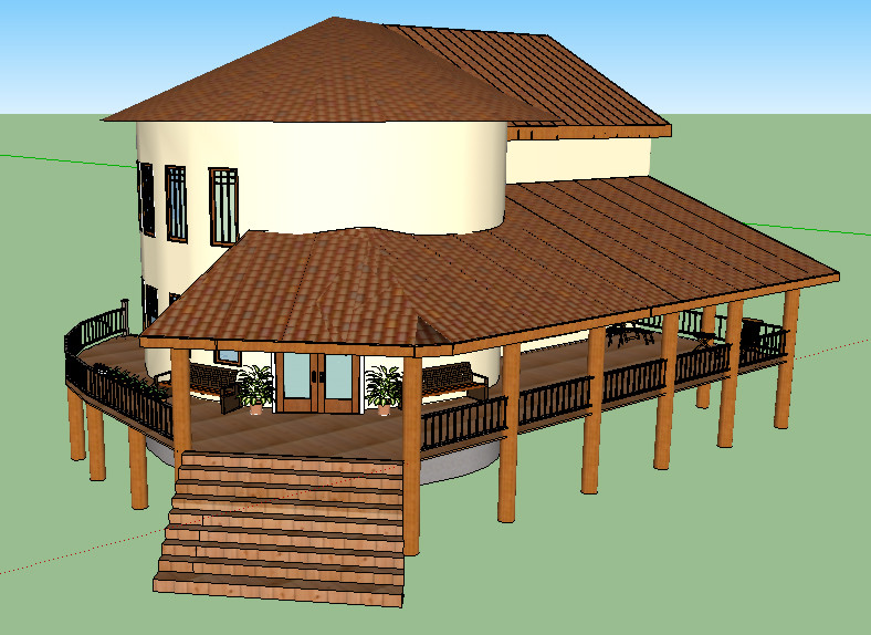 Cob house plans natural building designs this cob house for Natural home plans