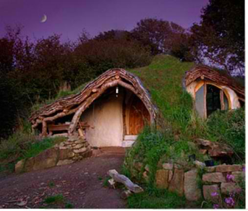 cob house hobbit house