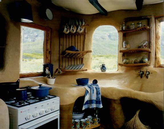cob home kitchen