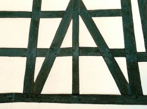timber framing wall