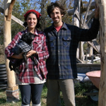 Ziggy and April - natural builders cob builders