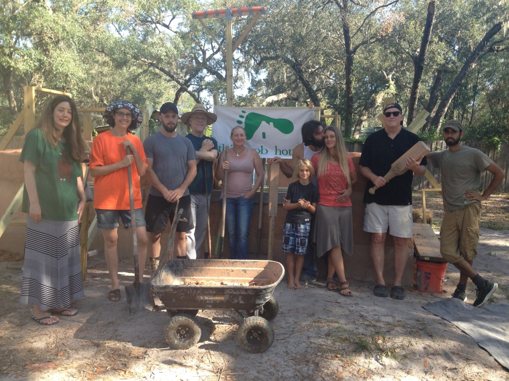 Introduction to cob workshop florida april 2018 for Build your own house florida
